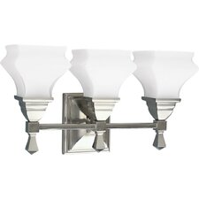 <strong>Progress Lighting</strong> Bratenahl 3 Light Vanity Light