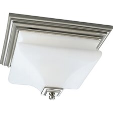 Bratenahl Brushed Nickel Flush Mount