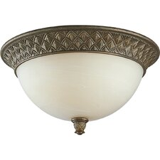 <strong>Progress Lighting</strong> Savannah 3 Light Flush Mount