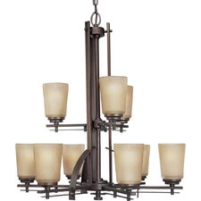 <strong>Progress Lighting</strong> Riverside 9 Light Chandelier
