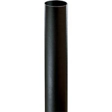 "Black Bollard for Path Light (4-3/4"" x 28-3/8"")"