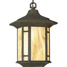 Arts and Crafts 1 Light Outdoor Lantern