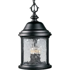 Ashmore Old World Style 3 Light Outdoor Hanging Lantern