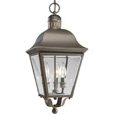 Andover 3 Light Outdoor Hanging Lantern