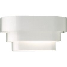 Tri Band Louver Wall Sconce with No Ballast