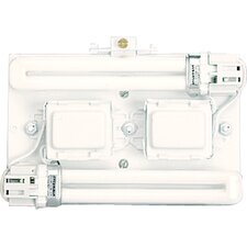 Wall Pocket System Surface Mount Back Plate for Standard Ballasts