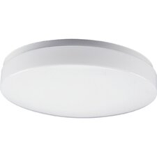 "<strong>Progress Lighting</strong> 14"" White Acrylic  Contoured Ceiling Cloud"
