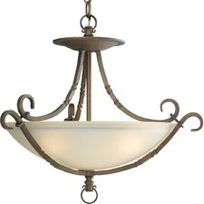 <strong>Progress Lighting</strong> Thomasville Santiago Semi Flush Mount