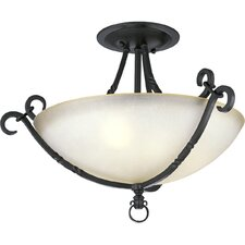 Thomasville Santiago 3 Light Semi Flush Mount