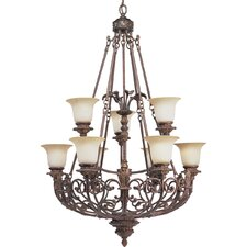 <strong>Progress Lighting</strong> Thomasville Messina 9 Light Chandelier