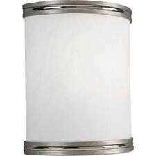 <strong>Progress Lighting</strong> Energy Star  Wall Sconce in Brushed Nickel