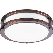 <strong>Progress Lighting</strong> Circuline 1 Light Flush Mount