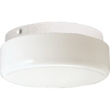 "<strong>Progress Lighting</strong> 9"" Contoured Cloud Semi Flush Mount"