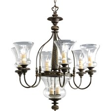 <strong>Progress Lighting</strong> Fiorentino Chandelier with Bowl