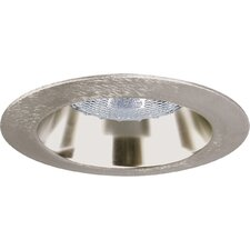 "4"" Incandescent Open Shower Recessed Light Trim in White"