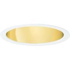 "6"" MH Open Baffle Recessed Trim in Specular Gold"