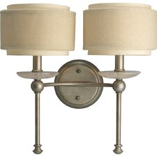 Ashbury Wall Sconce in Silver Ridge