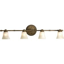 <strong>Progress Lighting</strong> Savannah 4 Light Vanity Light