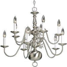 <strong>Progress Lighting</strong> Americana 10 Light Chandelier