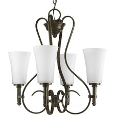 Flirt 4 Light Chandelier