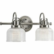 <strong>Progress Lighting</strong> Archie 2 Light Bath Vanity Light