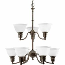 <strong>Progress Lighting</strong> Madison 9 Light Chandelier