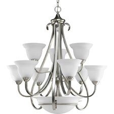 <strong>Progress Lighting</strong> Torino 9 Light Chandelier