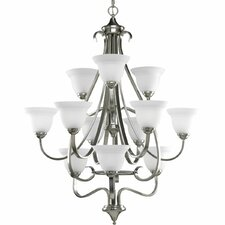 <strong>Progress Lighting</strong> Torino 12 Light Chandelier