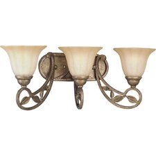 Le Jardin 3 Light Bath Vanity Light