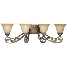 Le Jardin 4 Light Bath Vanity Light