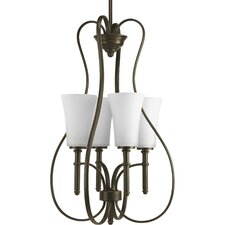 Flirt 4 Light Foyer Pendant