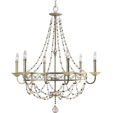 Chanelle 6 Light Candle Chandelier