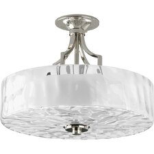 Caress 2 Light Semi Flush