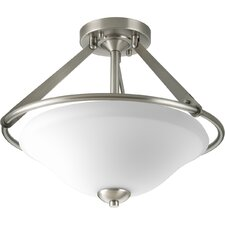 <strong>Progress Lighting</strong> Moments 3 Light Semi Flush Mount