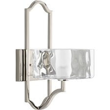 Caress 1 Light Wall Sconce