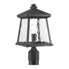 "1 Light 8.5"" Outdoor Post Lantern"