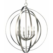 <strong>Progress Lighting</strong> Equinox 6 Light Large Foyer Pendant