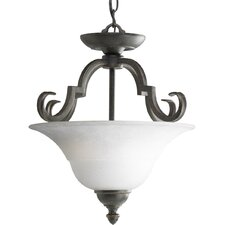 Melbourne 2 Light Convertible Inverted Pendant