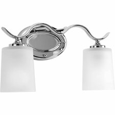 <strong>Progress Lighting</strong> Inspire 2 Light Bath Vanity Light