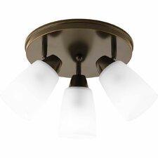 Wisten Spotlight 3 Light Semi-Flush Mount
