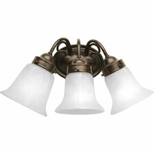 <strong>Progress Lighting</strong> Bedford 3 Light Bath Vanity Light