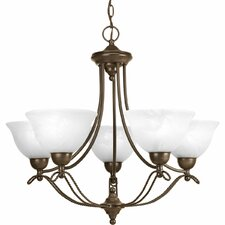 <strong>Progress Lighting</strong> Avalon 5 Light Mini Chandelier