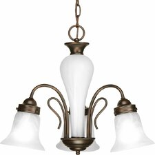 <strong>Progress Lighting</strong> Bedford 3 Light Mini Chandelier