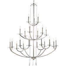 Nissé 21 Light Drum chandelier