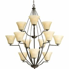 <strong>Progress Lighting</strong> Bravo 12 Light Mini Chandelier