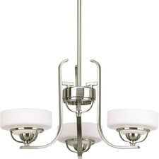 Torque 3 Light Mini Chandelier