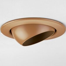 "<strong>Progress Lighting</strong> 4"" Incandescent Eyeball Recessed Light Trim"