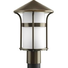 Welcome 1 Light Outdoor Post Lantern