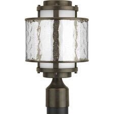 <strong>Progress Lighting</strong> Bay Court 1 Light Outdoor Post Lantern