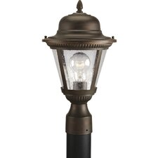 "1 Light 9"" Outdoor Post Lantern"